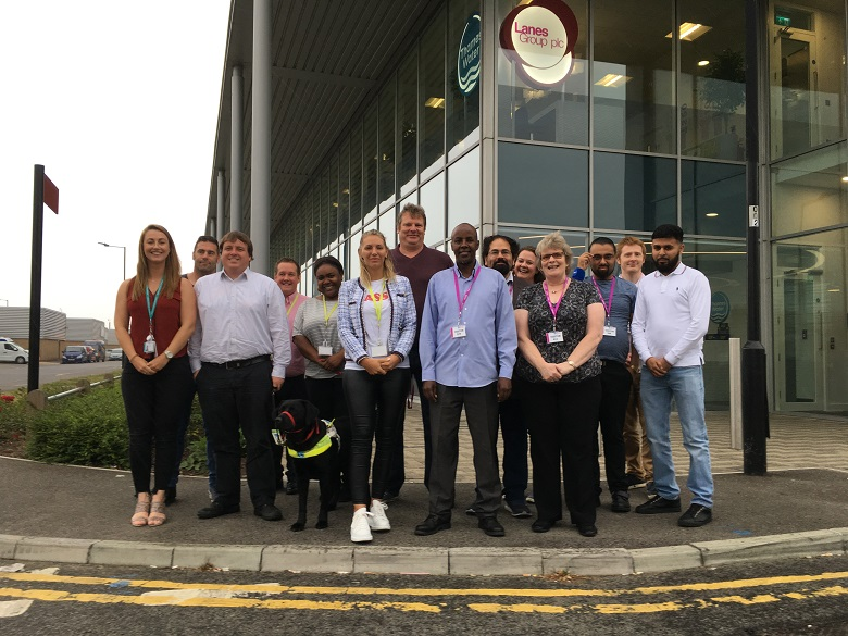 lanes and thames water employees with jobseekers