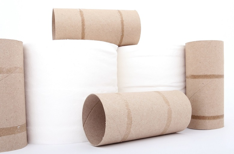 Toilet rolls and cardboard inner tubes