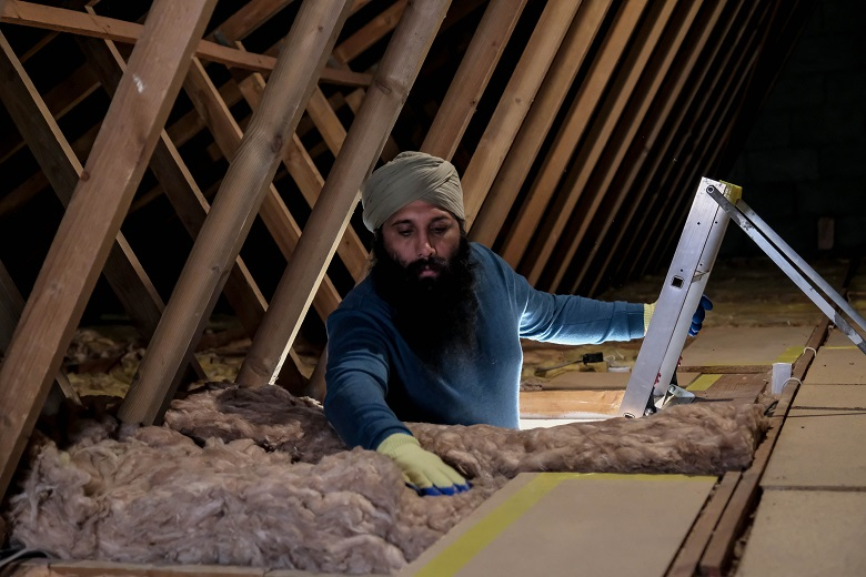 """Loft insulation is one of Thames Water's tips to get your home """"winter ready"""""""