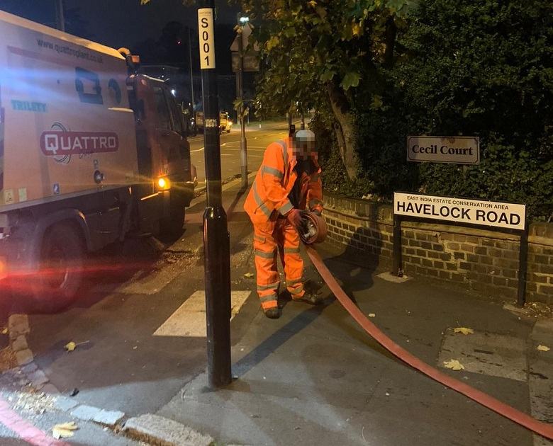 Quattro Plant Ltd was fined after using illegal standpipes to take water from a hydrant in Croydon last year
