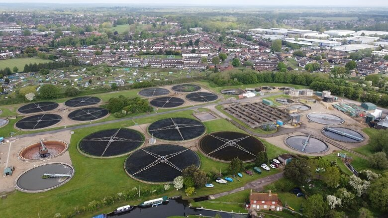 The existing sewage works will be demolished to make way for new housing in the town