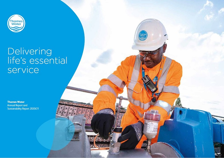 Thames Water annual results 2021